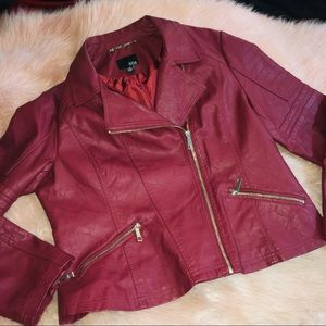 a.n.a. ~ Vegan Moto Leather Jacket